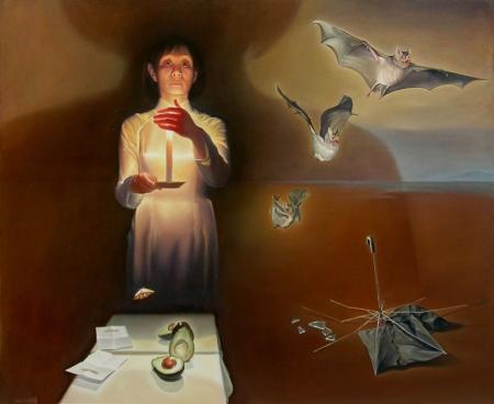 Nguyễn Đình Đăng 2012, sơn dầu, 162 x 194 cm