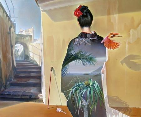 """Nguyễn Đình Đăng, ÂAmami, Amami!"""", 2012, sơn dầu trên linen, 60.6 x 72.7 cm."""