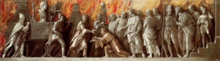 Andrea Mantegna - The Introduction of the Cult of Cybele at Rome