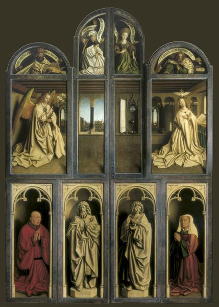Lam Godsretabel; Ghent Altarpiece or The Adoration of the Lamb; Der Genter Altar; Le polytyque de l'Agneau Mystique