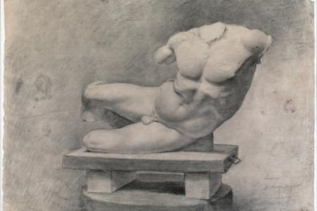 Hình hoạ tượng Ilisus của Pablo Picasso