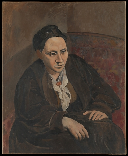 Pablo Picasso Chân dung Gertrude Stein (1905/1906) sơn dầu trên canvas, 100 x 81.3 cm