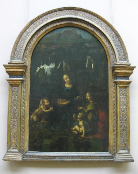 Leonardo da Vinci Đức Mẹ Đồng Trinh bên núi đá (1483 - 1486) sơn dầu, 199 x 122 cm