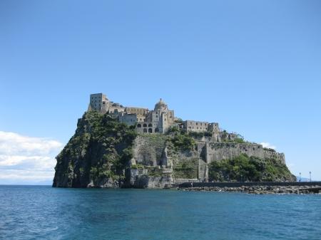 Lâu đài Argonese (Ảnh của tác giả)