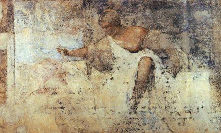 Titian, Một trích đoạn còn sót lại từ bích hoạ mặt tiền Fondaco dei Tedeschi