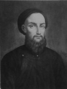 Pierre Dumoulin-Borie Cao (1808 - 1838) (chân dung trong lưu trữ của hội Thừa sai Paris)