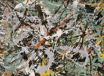 Jackson Pollock, Không đề (1949)