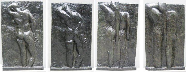 Henri Matisse Lưng I -IV (1908 - 1931) đồng
