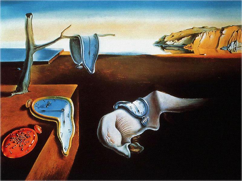 Salvador Dalí Sự dai dẳng cuả ký ức (1931) sơn dầu, 24 x 33 cm