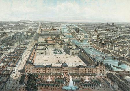 Paris năm 1850
