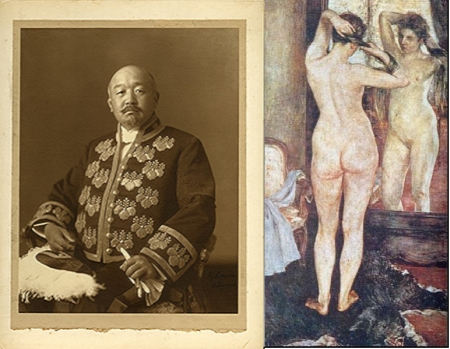 Kuroda Seiki và bức sơn dầu