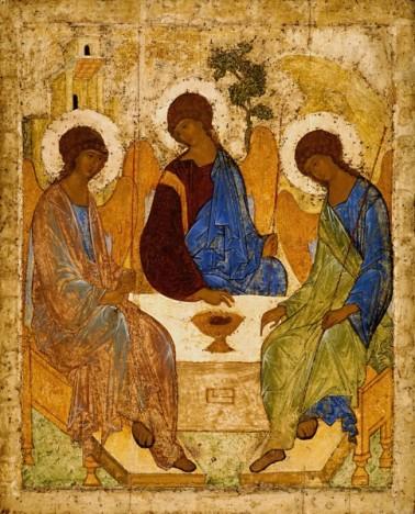 Viễn cận ngược. Andrei Rublev, Ba ngôi một thể (kh. 1410)