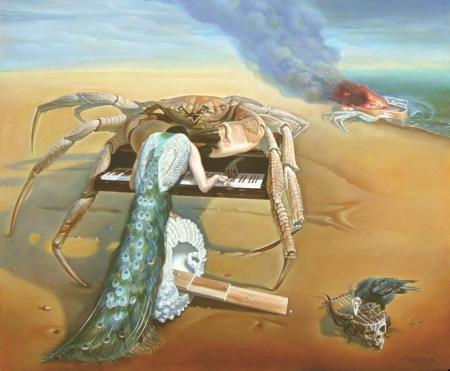 Nguyễn Đình Đăng Công-cua (Concours) 2014 sơn dầu trên canvas, 60.6 x 72.7 cm