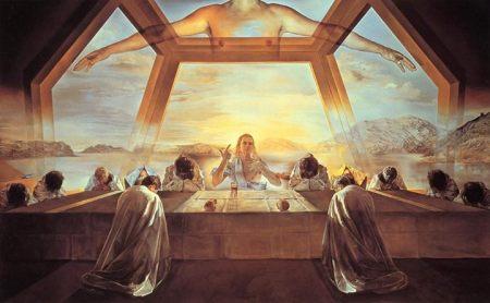 Salvador Dalí Lễ thánh của bữa tối cuối cùng (1955) 167 x 266.7 cm