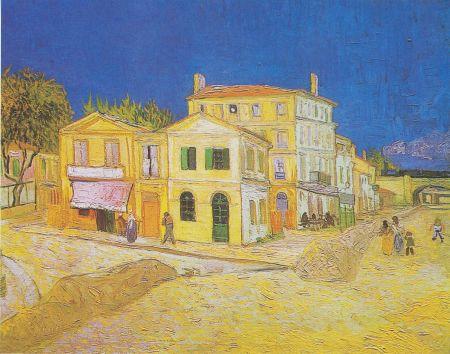 Vincent Van Gogh Ngôi nhà vàng (1888) Nhà Van Gogh tại số 2 place Lamartine ở Arles