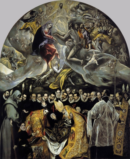 El Greco Mai táng bá tước Orgaz (1586)