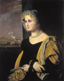 О.А. Kiprensky Chân dung Ekaterina Avdulina (1822)