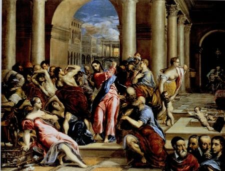 El Greco Tẩy uế đền thờ (kh. 1570)