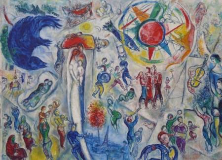 Marc Chagall Cuộc đời (1964) sơn dầu