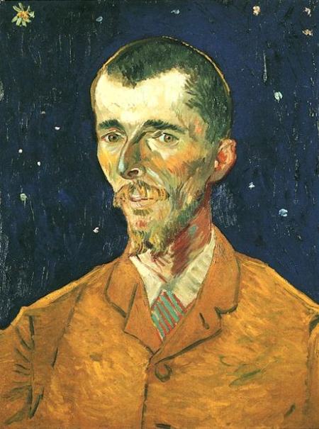 Vincent Van Gogh Thi sĩ: Eugène Boch (1888)