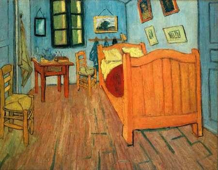 Vincent Van Gogh Phòng ngủ (của Van Gogh) ở Arles (1888)