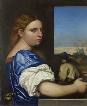 Sebastiano del Piombo Con gái của Herodias (1510) sơn dầu trên ván gỗ, 54.9 x 44.5 cm National Gallery London
