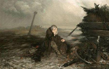 P.F. Yakovlev Tại nơi có đám cháy (1875)