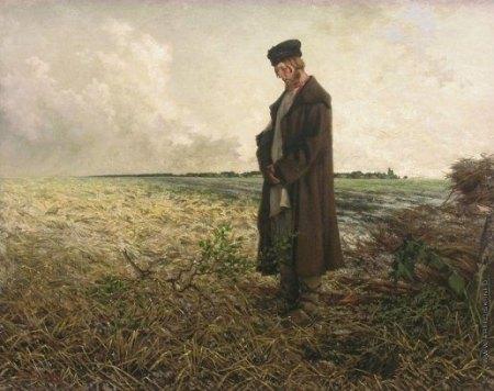 P.F. Yakovlev Sau trận mưa đá (1884)