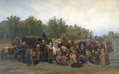 Konstantin Savitsky Đón tranh thánh (1878)