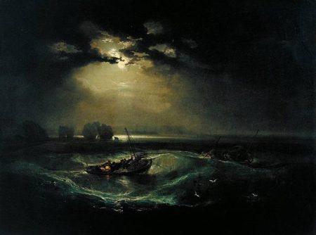 J.M.W. Turner Dân chài trên biển (1796) sơn dầu trên canvas, 91.4 x 122.2 cm