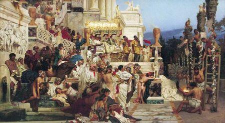 Henryk Semiradzky Những cây đuốc của Nero(1876)