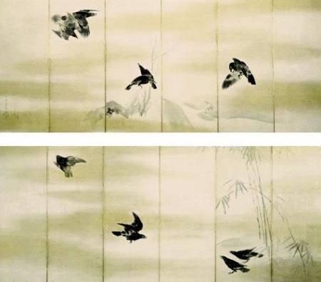 Maruyama Ōkyo Quạ (1766)