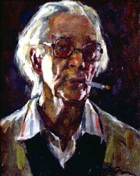 Alexei Kuznetzov Chân dung tự hoạ (1992) sơn dầu trên canvas, 45 x 35 cm