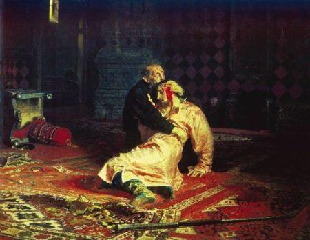 Ilya Repin Ivan Bạo chúa và con trai Ivan (1885)