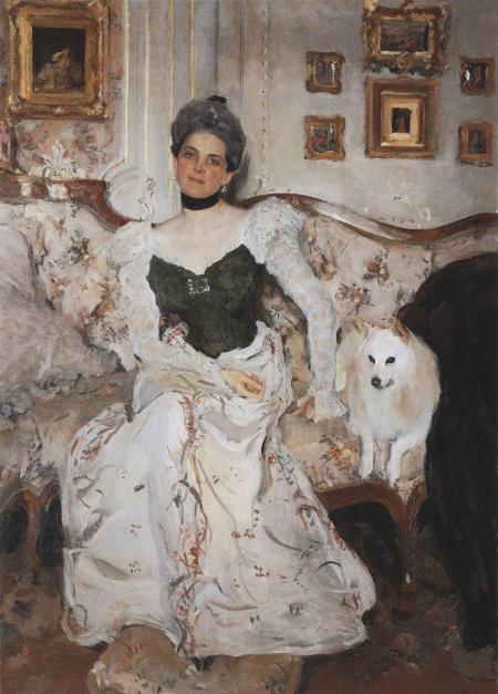 Valentin Serov Chân dung nữ công tước Zinaida Yusupova (1900 - 1902) sơn dầu trên canvas, 181.5 x 133 cm Bảo tàng Nga, St. Petersburg
