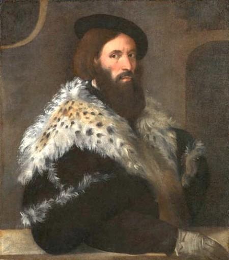 No 9:Chân dung Girolamo Fracastoro, kh. 1528, 84 x 73 cm, National Gallery London