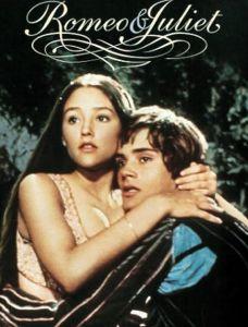 Romeo và Juliet trong phim cùng tên năm 1968 của Anh và Ý - một trong những bộ phim đẹp nhất tôi được xem ở tuổi 20.