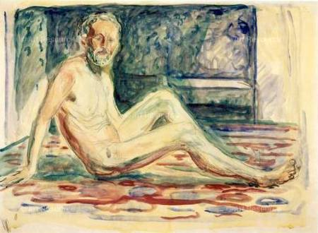 Edward Munch Tự hoạ (1903)