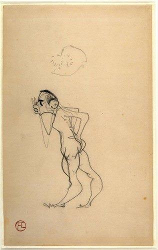 Henri de Toulouse-Lautrec Tự hoạ (1890)