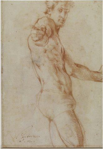 Pontormo Tự hoạ (1523)