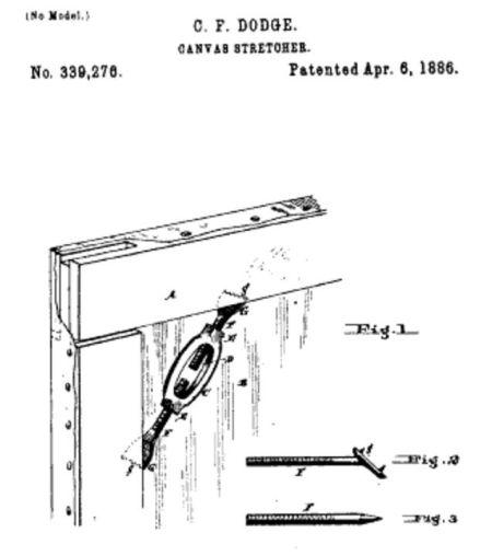 Đăng ký sáng chế năm 1886 của C.F. Dodge