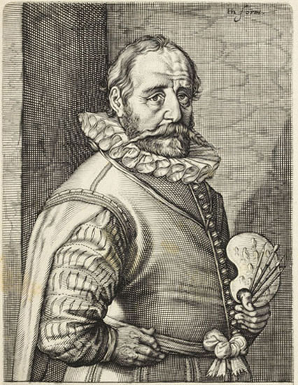 Chân dung Hans Bol (1534 - 1593)