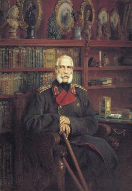 Konstantin Makovsky Chân dung bá tước Sergei Grigorevich Stroganov (1882)