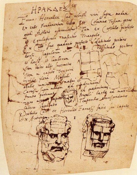 Dessin của Peter Paul Rubens