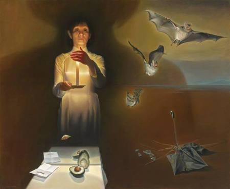 Nguyễn Đình Đăng Reflection (2012) sơn dầu trên canvas 162 x 194 cm