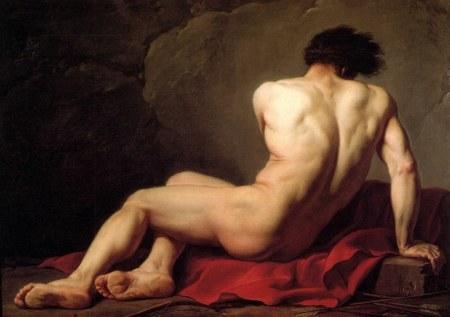 Jacques-Louis David Patroclus (1780) sơn dầu trên cavas, 122 x 170 cm Musée Tomas Henry, Cherbourg.